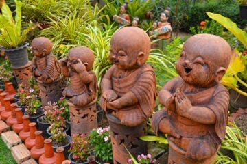Beelden tuin