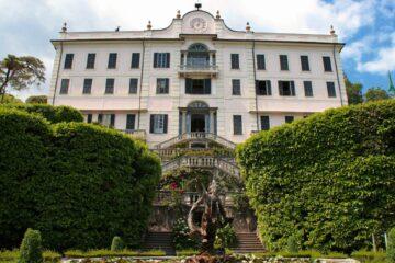 Bekende villa's en tuinen aan het Comomeer